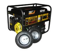 Бензогенератор Huter DY6500LX с колесами и аккумулятором