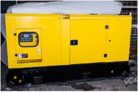 Дизельный генератор АД-120 в кожухе Арктика