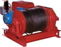 Лебедка тяговая электрическая ТЭЛ-2