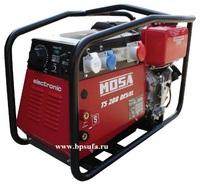 Генератор сварочный бензиновый MOSA TS 200 BS/CF