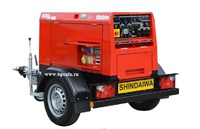 Агрегат сварочный дизельный SHINDAIWA DGW400DMK/RU