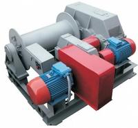 Лебедка тяговая электрическая ТЭЛ-10Д двухскоростная