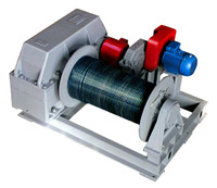 Лебедка тяговая электрическая ТЭЛ-10